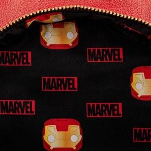 Mini Sac à Dos Loungefly Marvel Iron Man Light Up