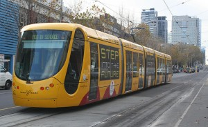 Melbourne tram leased from Mulhouse