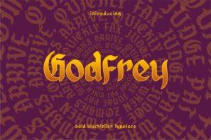 Godfrey - Blackletter Font
