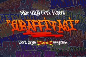 Graffitasi - Stylish Graffiti Fonts