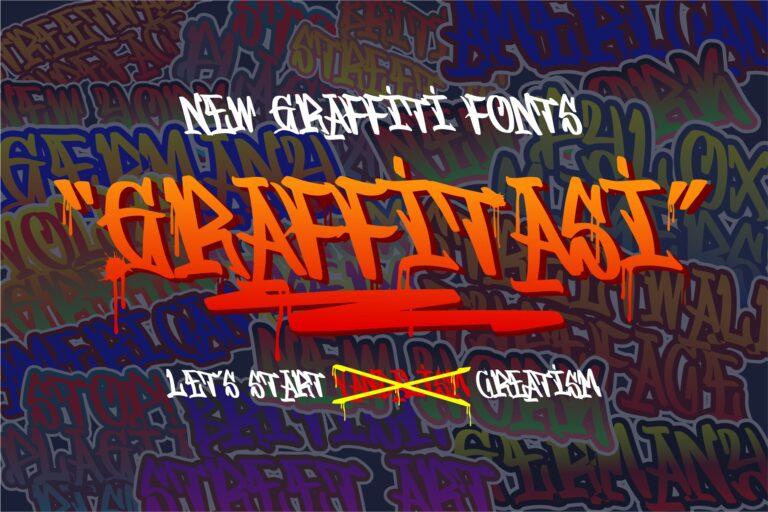 Preview image of Graffitasi – Stylish Graffiti Fonts