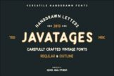 Last preview image of Javatages Bold