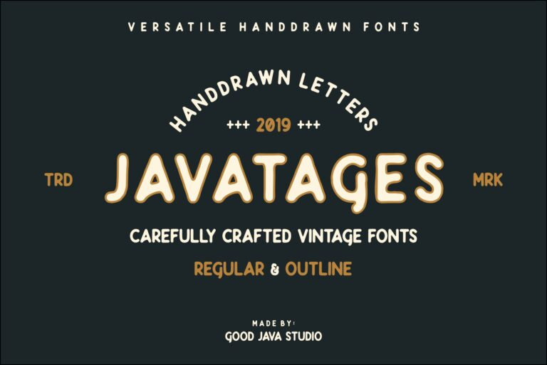 Preview image of Javatages Bold