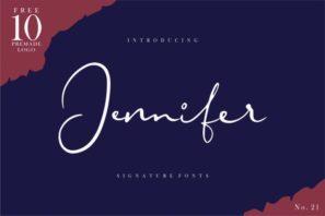 Jennifer [Extras Premade Logo]