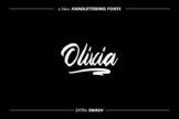 Last preview image of Olivia Script