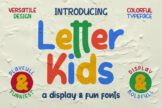 Last preview image of Letter Kids