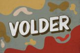Last preview image of Volder – Retro Bold Font