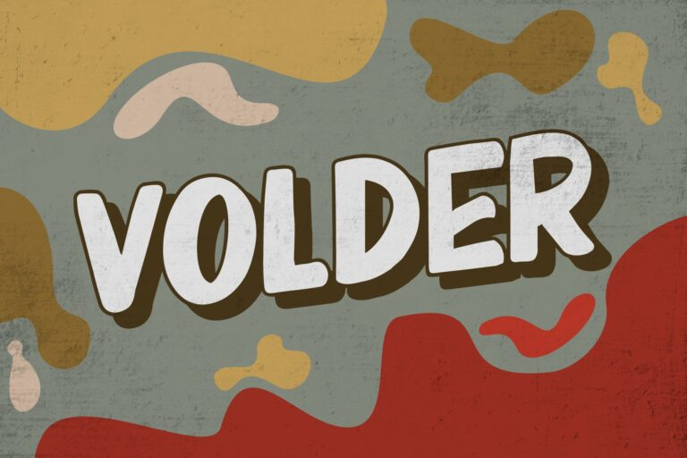 Preview image of Volder – Retro Bold Font