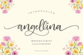 Last preview image of Angellina – Luxury Fonts