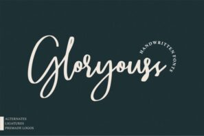 Gloryouss | Bonus Premade Logo