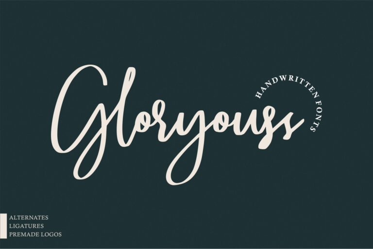 Preview image of Gloryouss | Bonus Premade Logo