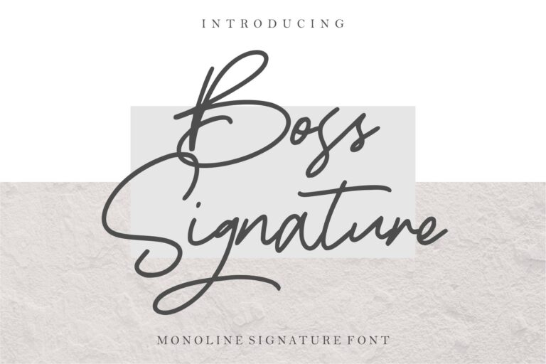 Preview image of Boss Signature