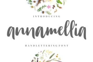 Annamellia - Handlettering Fonts