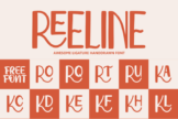Last preview image of Reeline – Luxury Hand Drawn Font