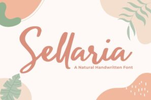 Sellaria - Handwritten Font