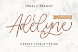 Last preview image of Adelyne – Modern Handlettering