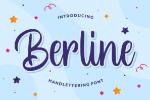 Berline - Handlettering Font