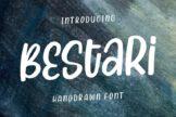 Last preview image of Bestari – Handdrawn Font
