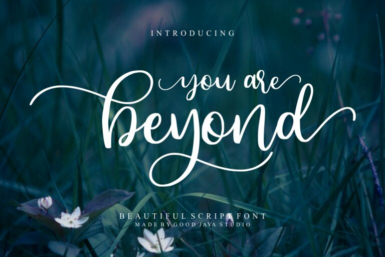 Preview image of Beyond – Beauty Font