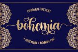 Last preview image of Bohemia – Modern Handlettering