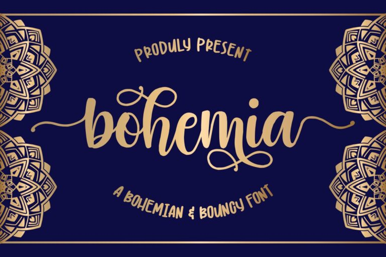 Preview image of Bohemia – Modern Handlettering