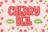 Last preview image of Cherry Bell – Freshty Font