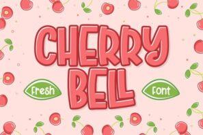 Cherry Bell - Freshty Font