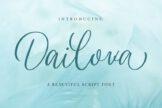 Last preview image of Dailova – Beautifull Script