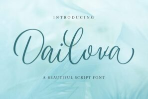 Dailova - Beautifull Script
