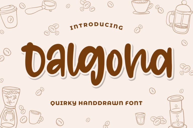 Preview image of Dalgona – Quirky Font