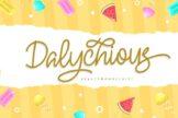 Last preview image of Dalychious – Beauty Monoscript