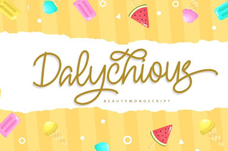 Preview image of Dalychious – Beauty Monoscript
