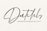 Last preview image of Dutchly – Modern Handwritten