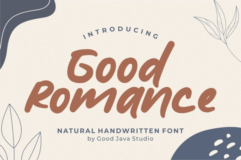 Preview image of Good Romance – Natural Handwritten