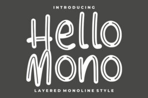Hello Mono - with Layered Inline