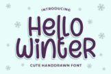 Last preview image of Hello Winter
