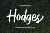 Last preview image of Hodges – Modern Handlettering