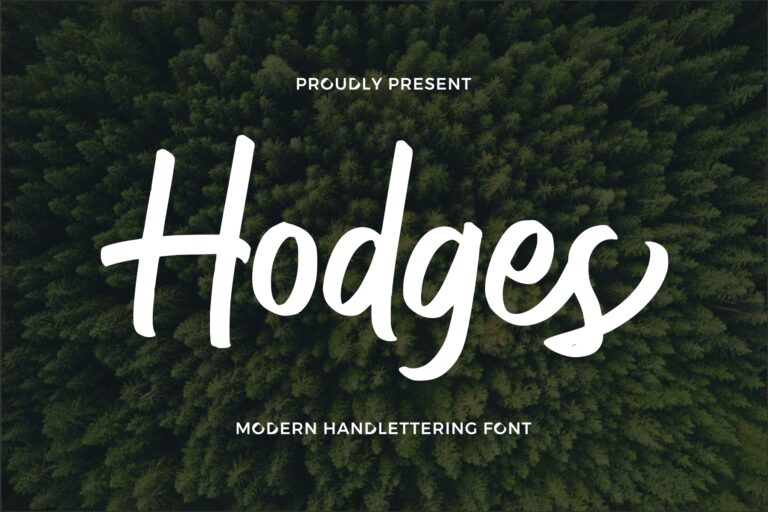 Preview image of Hodges – Modern Handlettering