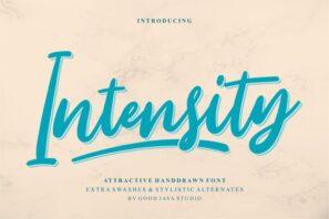 Intensity - Attractive Handdrawn