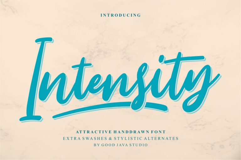 Preview image of Intensity – Attractive Handdrawn
