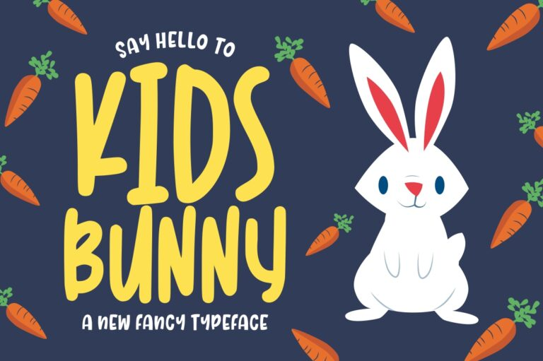 Preview image of Kidsbunny Playful Font