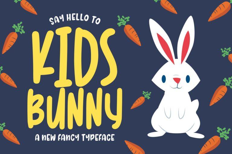 Kidsbunny Playful Font