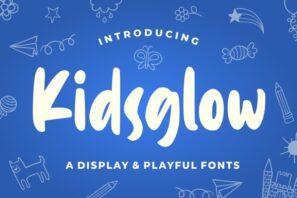 Kidsglow - Fun Font
