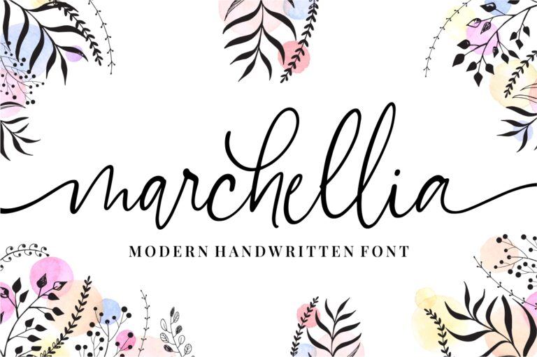 Preview image of Marchellia – Modern Handwritten