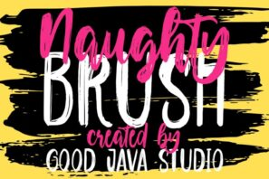 Naughty - Script brush