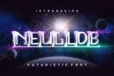 Last preview image of Neuglob – Futuristic Font
