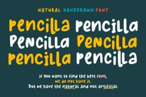 Pencilla - Natural Handdrawn