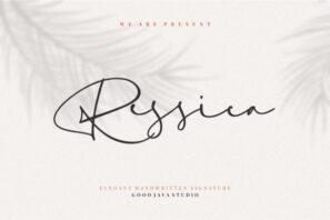 Ressica - Modern Script