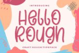 Last preview image of Hello Rough