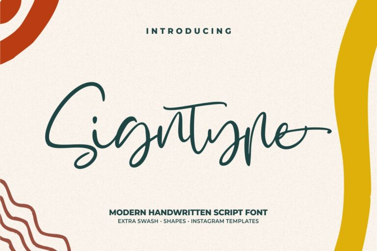 Preview image of Signtype – Modern Handwritten